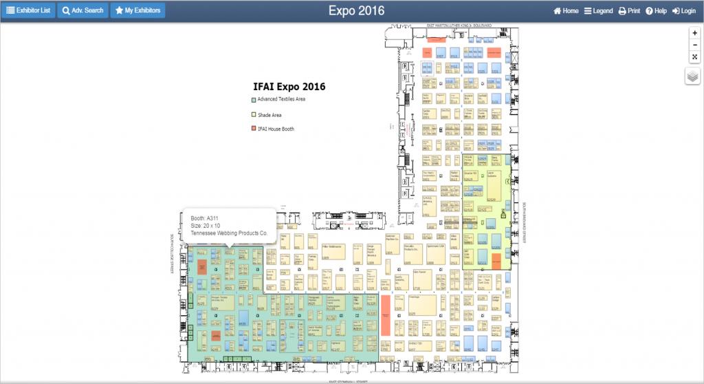 IFAI 2016 - TN Webbing Booth A311