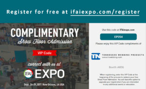 Visit TN Webbing at the IFAI Expo 2017
